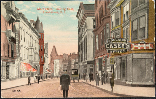 Main Street looking East, Pawtucket, R.I.