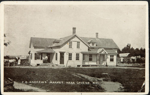 C.B. Andrews' Market, Near Greene, R.I.