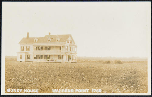 Bundy House. Warrens Point.