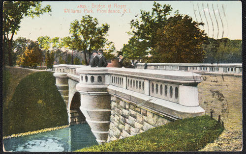 Bridge at Roger Williams Park, Providence, R.I.