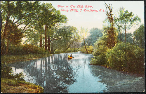 View on Ten Mile River, Hunts Mills, E. Providence, R.I.