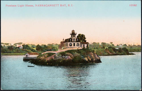 Pomham Light House, Narragansett Bay, R.I.