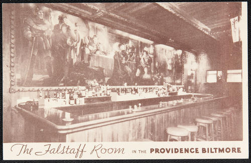The Falstaff Room in the Providence Biltmore