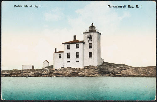 Dutch Island Light. Narragansett Bay, R.I.