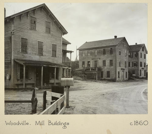 Woodville. Mill Buildings c. 1860