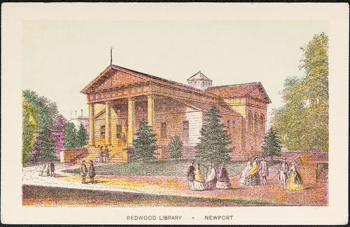 Redwood Library. Newport.