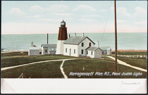 Narragansett Pier, R.I., Point Judith Light.
