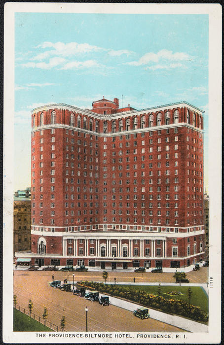 The Providence Biltmore Hotel, Providence, R.I.