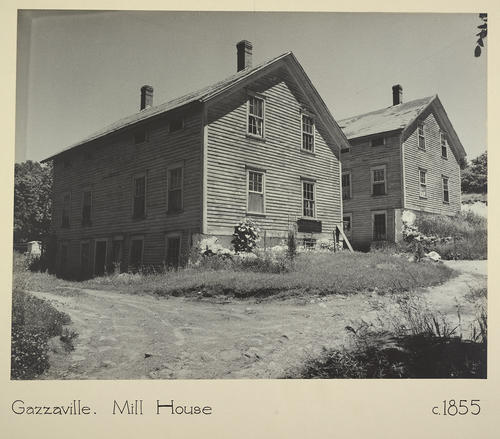 Gazzaville. Mill House c. 1855
