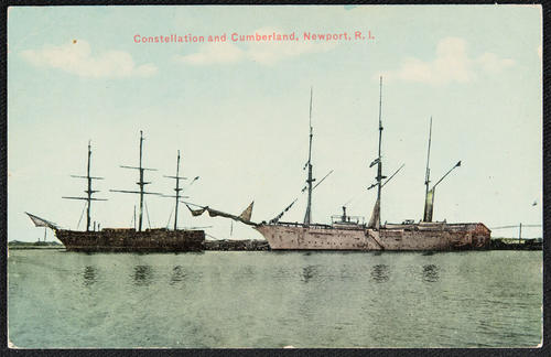 Constellation and Cumberland, Newport, R.I.