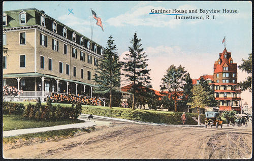 Gardner House and Bayview House, Jamestown, R.I.