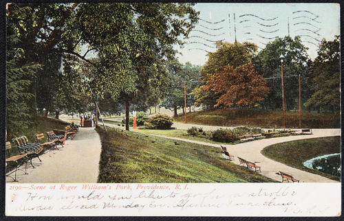 Scene at Roger Williams Park, Providence, R.I.