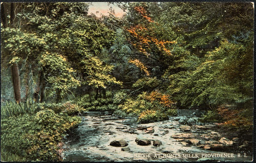 Brook at Hunt's Mills, Providence, R.I.