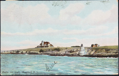 Castle Hill Light, (Newport) R.I.