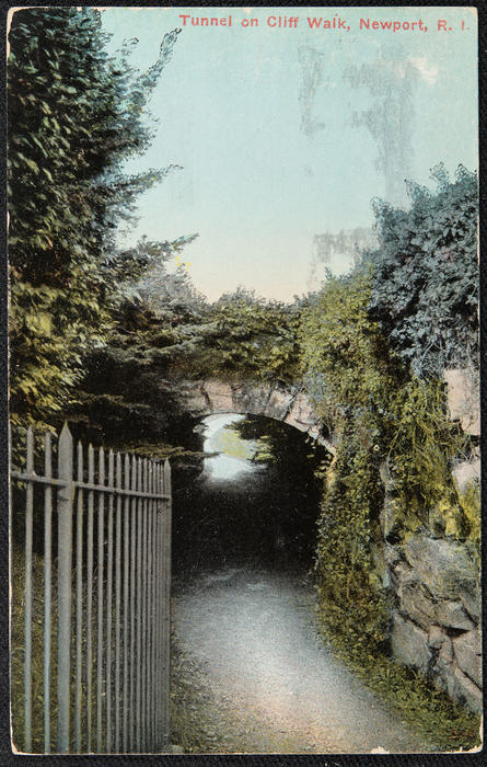 Tunnel on Cliff Walk, Newport, R.I.