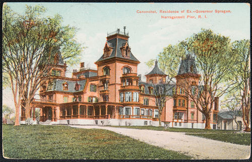 Canonchet, residence of ex-governor Sprague, Narragansett Pier, R.I.