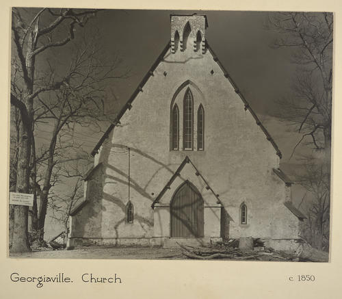 Georgiaville. Church c. 1850