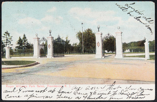 Roger Williams Park Gates, Providence, R.I.