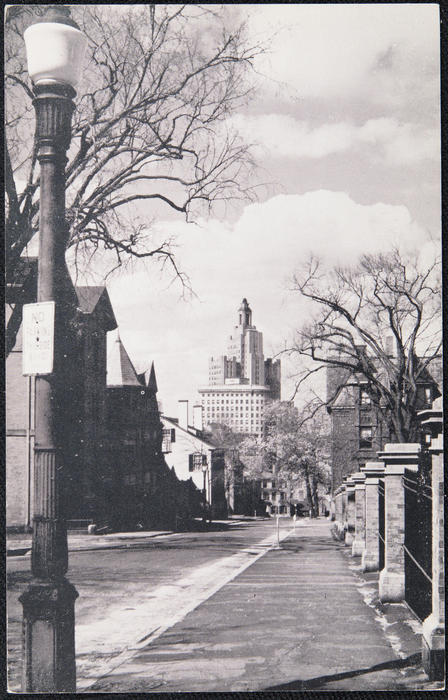 Looking Down George Street, Providence, R.I.