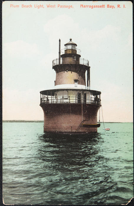 Plum Beach Light, West Passage, Narragansett Bay, R.I.
