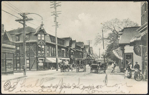 Casino and Bellevue Ave, Newport, R.I.