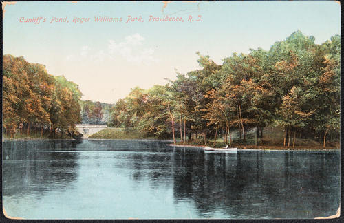 Cunliff's Pond, Roger Williams Park, Providence, R.I.