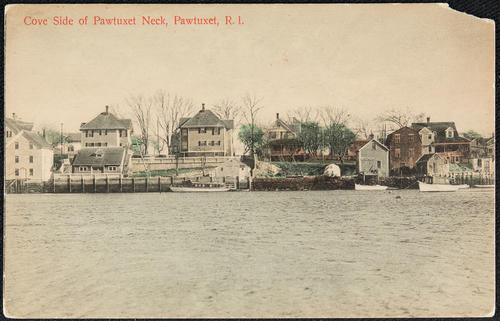 Cove Side of Patuxet Neck, Pawtuxet, R.I.