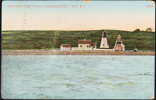Sand Point Light House, Narragansett Bay, R.I.