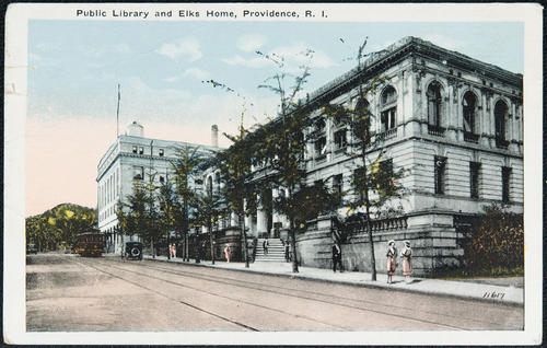 Public Library and Elks Home, Providence, R.I.