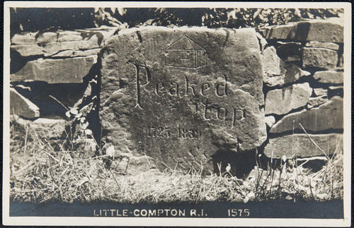 """Peaked Top"" Little Compton, R.I."
