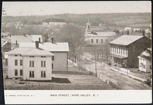 Main Street, Hope Valley, R.I.
