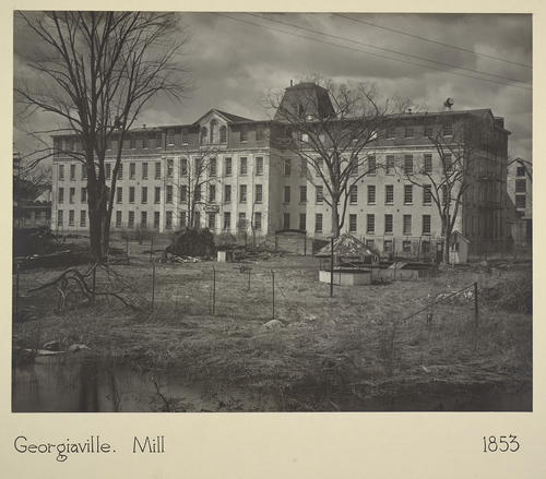 Georgiaville. Mill 1853