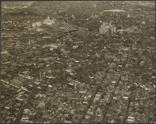 Providence, Aerial view of (unmounted)
