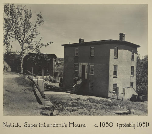 Natick. Superintendent's House. C. 1850 (probably 1851)