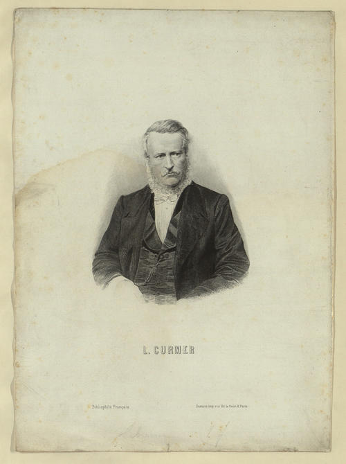Portrait of L. Curmer