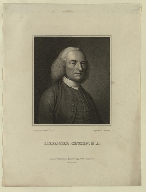 Portrait of Alexander Cruden