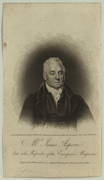 Portrait of James Asperne