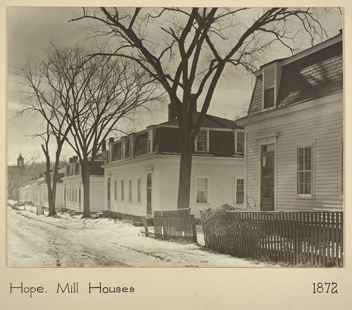 Hope. Mill Houses 1872
