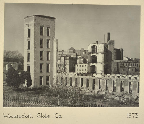 Woonsocket. Globe Co. 1873