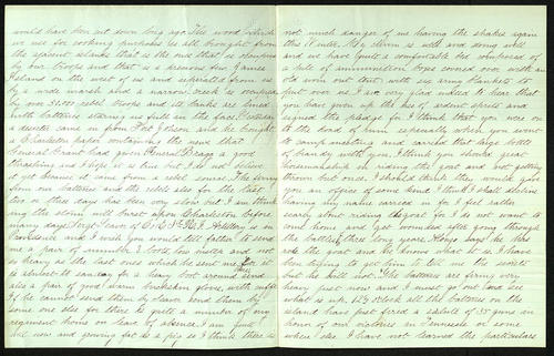 Letter from George Turner to his Cousin, 01 Dec 1863