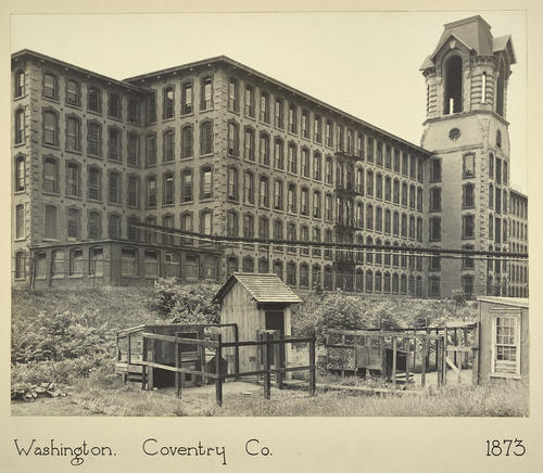 Washington. Coventry Co. 1873