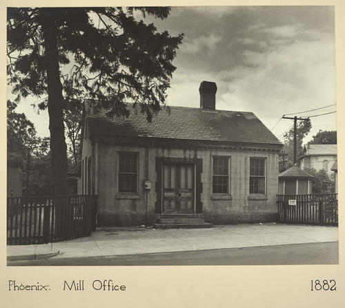Phenix. Mill Office 1882