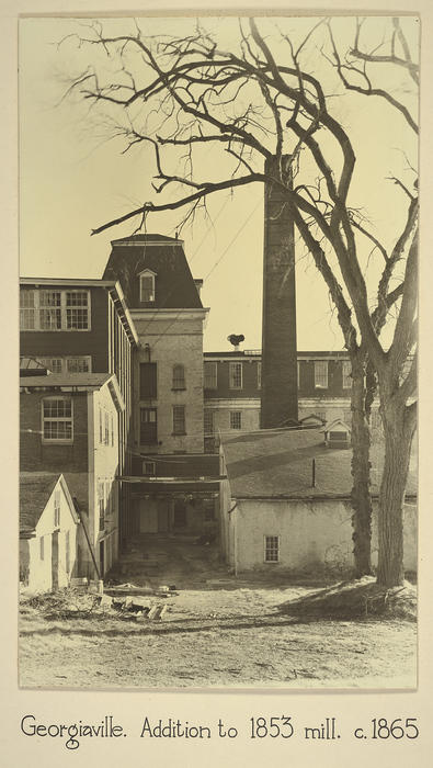 Georgiaville. Addition to 1853 mill. c. 1865