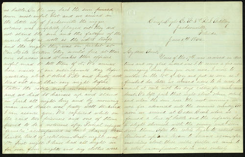 Letter from George Turner to his Aunt, 05 Jun 1864