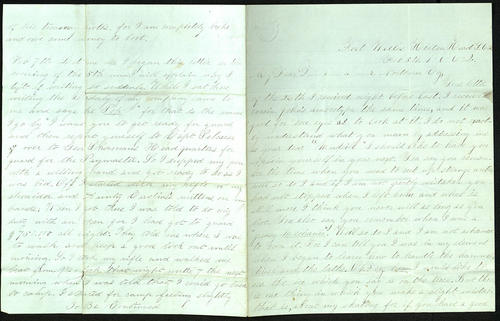 Letter from George Turner to his Cousin, 05 Feb 1862