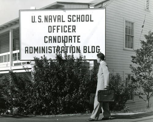 U.S. Naval School Officer Candidate Administration Building