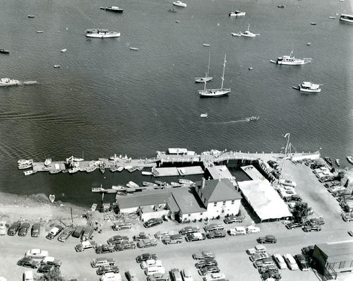 Aerial View of Pier