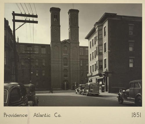 Providence. Atlantic Co. 1851