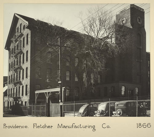 Providence. Fletcher Manufacturing Co. 1866