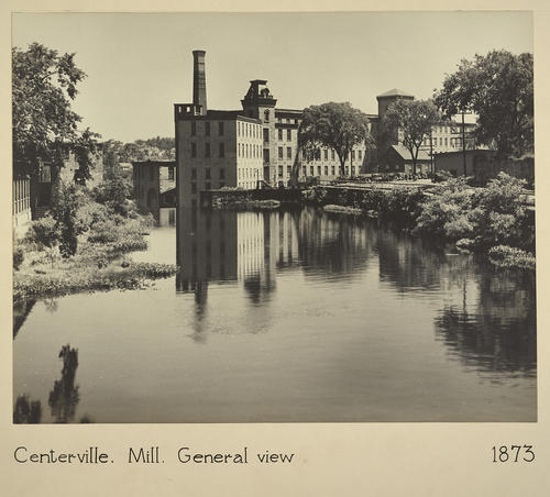 Centerville. Mill. General view 1873